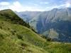Blick zurück zum Tguma: Safiental., Piz Fees