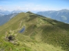 namenloser See auf der Alp Sarn und Präzer Höchi