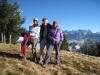 Anne, Hanspeter und Marianne  auf dem  Hinterfallenchopf 1532m
