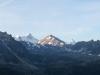 Bishorn 4161m, Weisshorn 4506m, e Diablons 3609m,hi  Zinalrothorn 4221m, Pointes de Nava   2540m