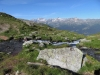 wunderschöne Landschaft; mi Bec de  Bosson 3148m