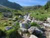 eine alpine Landschaft