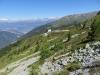Hotel Weisshorn; WIldhorn  3247m, Mont Bovin 2995m, Wildstrubel 3243m
