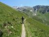 auf dem Höhenweg nach Zinal