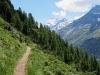 weiter auf dem Höhenweg; Dent Blanche 4357m