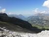 Blick hinunter zur Bundalp: Niesenund  Dreispitz