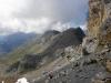 Blick vom Hohtürli 2778m auf den Bundstock 2756m, Schwarzhorn 2781m