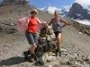 Brigitte und Bruni und auf dem Hohtürli 2778m; Wyssi frau 3650m