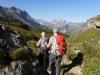 gegen Hohbärgli mit Tschingellochtihorn 2735m und  Lohner