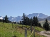Sicht von bei P.1835m; Altels 3629m, Rinderhorn 3453m, Tierhörnli 2894m, Steghorn 3146m  Grossstrubel 3243m, Wildstrubel  3243m