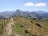 auf dem Gandlouengrat; Blick auf Parwenge;  Giferspitz 2542m, Wassergrat 1940m, Wispile 1907m; von Spitzhorn bie les Diablerets