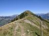 Blick zum Rinderhorn; Gratweg