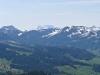Stockberg, Hochalp; hi Vrenelis Gärtli  2904m, Glärnisch 2914m, Ruchen  2901m, Speer 1950m