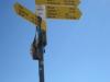auf dem Gipfel oder eher Kuppe des Hüttchopf 1232m