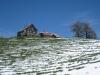 SIcht auf die   Scheidegg  1197m