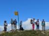 die Gruppe auf dem  Illhorn 2716m