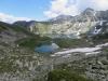 Illsee mit Meretschihorn 2576m, hi  Brunethorn 29562m, Schwarzhorn  2790m