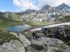 Waschsee, Illsee, li vo  das Meretschihorn, hi ; Brunethorn 2952m 2567m, Schwarzhorn 2790m, das Rothorn 2998m