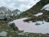 unser Aufstieg;Schwarzhorn 2790m, das Rothorn 2998m