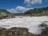 Blick gegen das Rhonetal: Meretschihorn 2576m