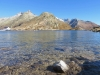 Grimsel Passhöhe 2164m  mit Totesee  2160m;  Gärsthörner, Hohhoren