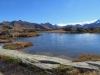 eines der namenlosen Seelein beim Grimselpass: Muttenhörner, Saashörner, Chüebodenhorn 3070m, Poncione di Manio 2925m