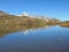 Jostsee 2419m; Tiefenstock 3515m, Galenstock 3586m,  Sidelenhorn 3217m, Grosses Furkahorn 3169m, Sidelengrat 3115m, Sidelnengrat P.3043m, Sidelengrat P.3015m, Klein Furkahorn 3026m