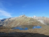 Blick hinunter auf den Grimselpass, Hohhoren, Galenstock, Rhonegletscher