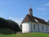 die Kirche von Bürglen