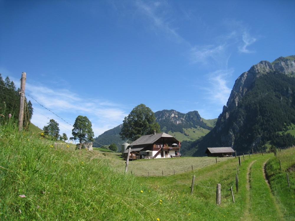Bauernhaus bei Pkt. 1186m