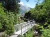 Bachüberquerung auf neuer Brücke