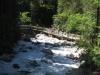 die Brücke über das Gornerenwasser