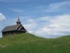 Blick auf das Kirchlein auf dem Stoos