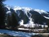 Blick auf Klosters; Gatschieferspitz 2676m