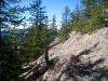 ein schöner Bergweg mit Weissfluh