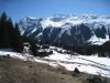 Alp mit Canardhorn 2607m, Wisshorn 2668m, Lauizughorn 2469m