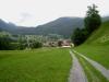Blick zuurück auf Klosters