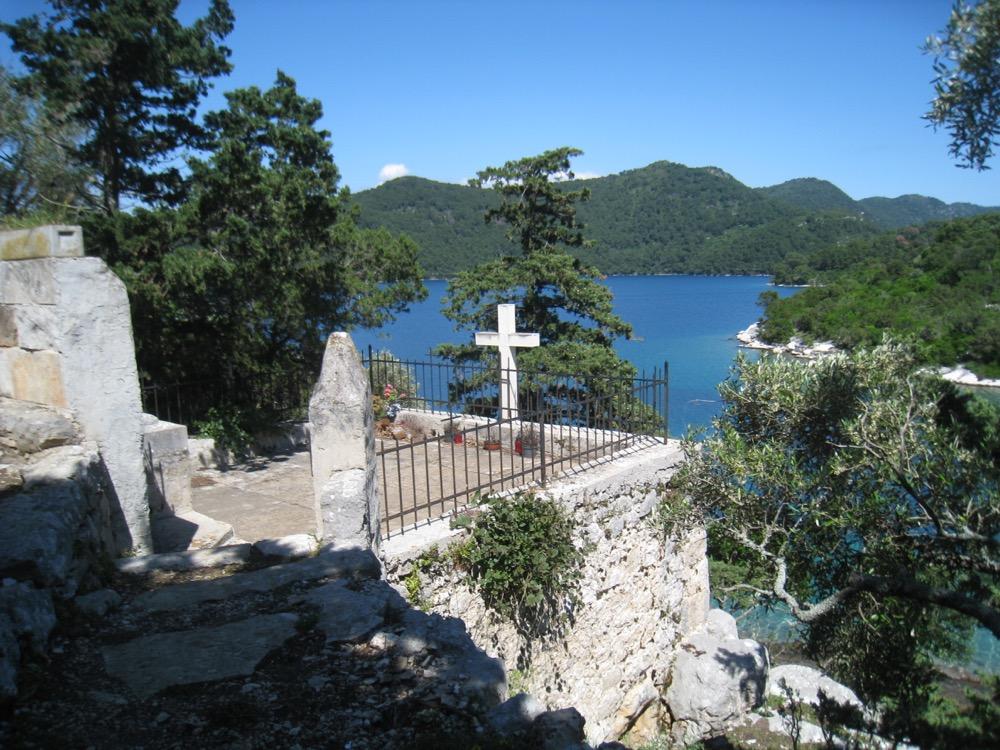 Sicht auf den Veliki Gradac