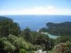 Sicht auf die Küste der Insel Mljet