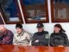 es ist kalt auf dem Schiff