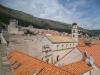 Sicht auf Dubvronik von der Stadtmauer aus