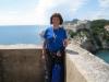 Marianne auf der  Stadtmauer von Dubvronik