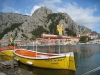 Omis  mit Fluss Cetina