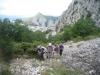 Aufstieg auf den Kula; Omis