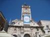 auf dem Hauptplatz von Zadar