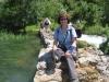Marianne im Krupa-Canyon