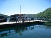 Nationalpark Plitvicer Seen; auf das Boot