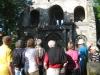 alte zerfallende Kirch in Bosnien