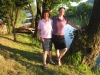 Marianne und Bruni an der Una
