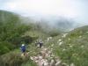 beim Aufstieg zum Učka-Gipfel